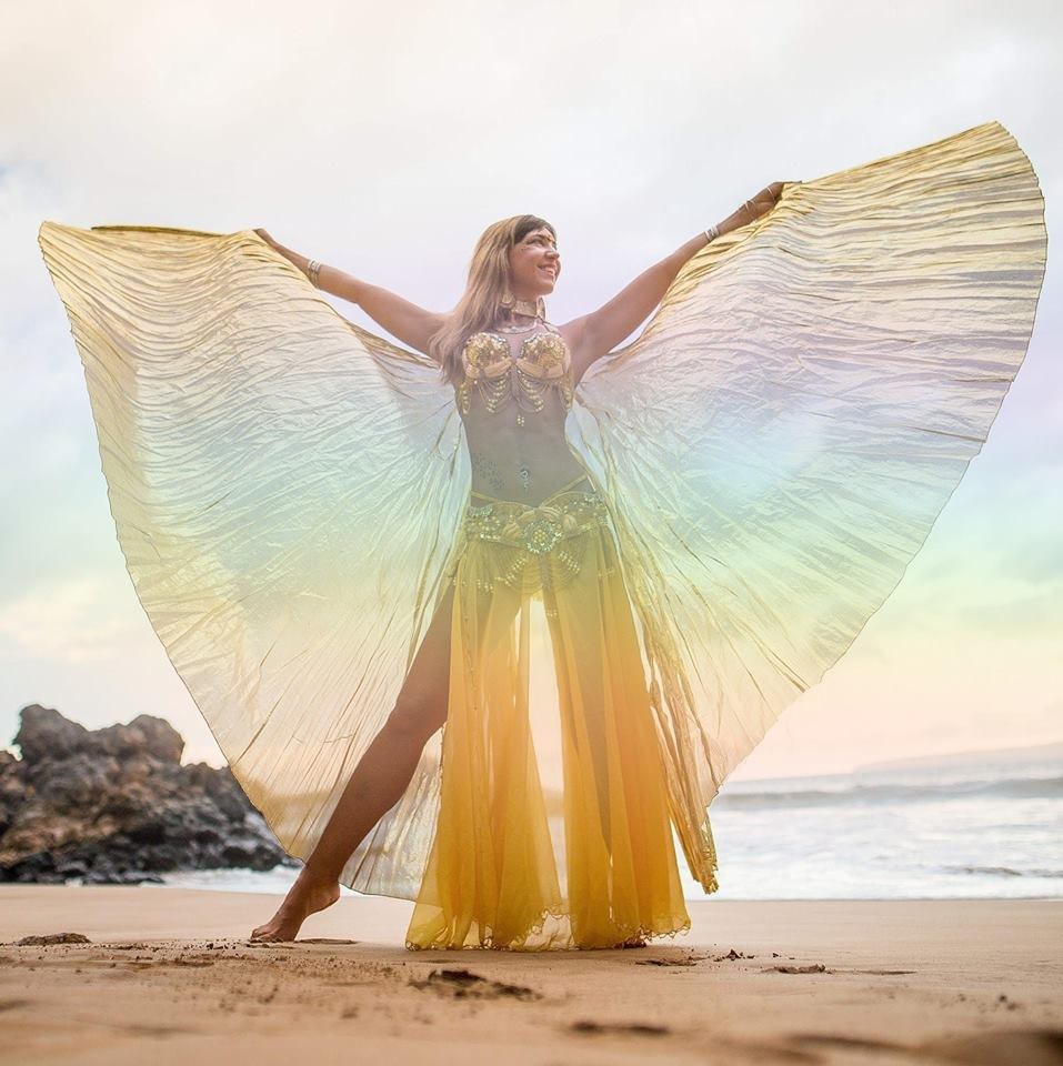 Isis Wings Maui Dancer Performer for Events