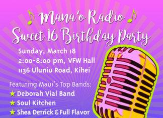 Mana'o Radio Sweet Sixteen Birthday Party