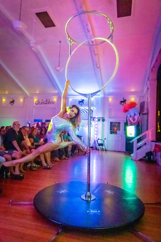 Maui Aerial Hoop Performer