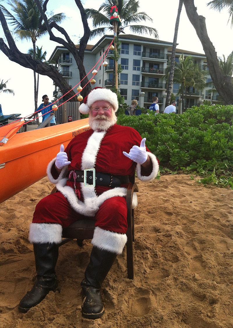 Maui Santa Claus
