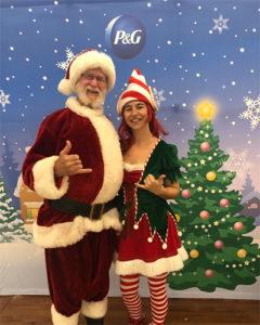 Santa entertainers