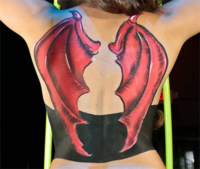 bodypaint wings