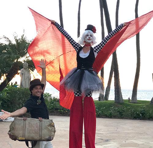magic brent with cirque jolie