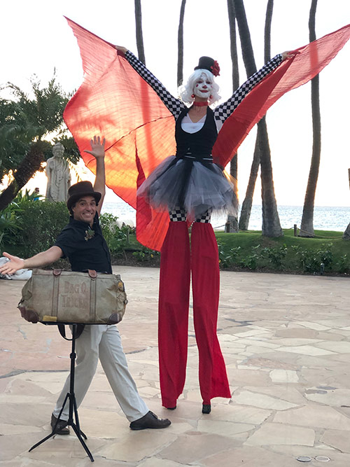 magic brent with cirque jolie