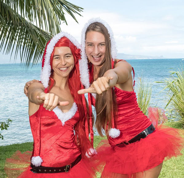 maui holiday characters