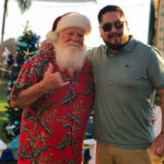 Hawaiian shirt Santa