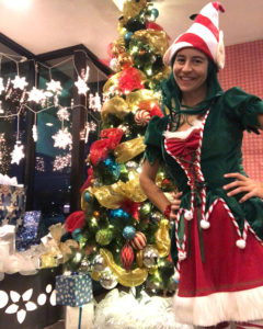 elf holiday character