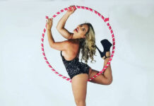 maui performer lollipop aerial lyra