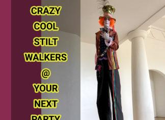 maui stilt walker